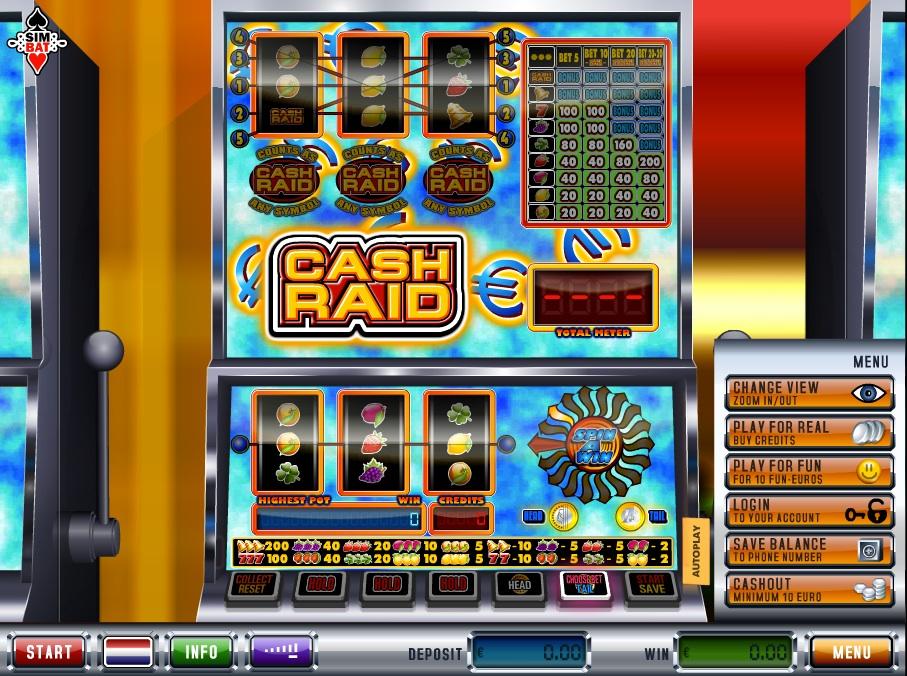 cash raid