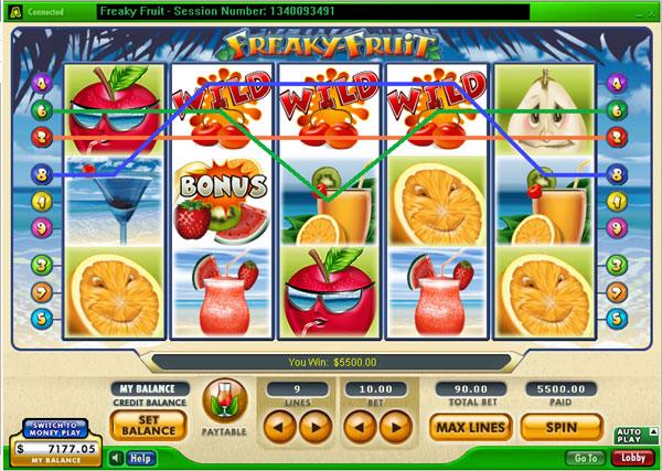 Freaky Fruit fruitautomaat