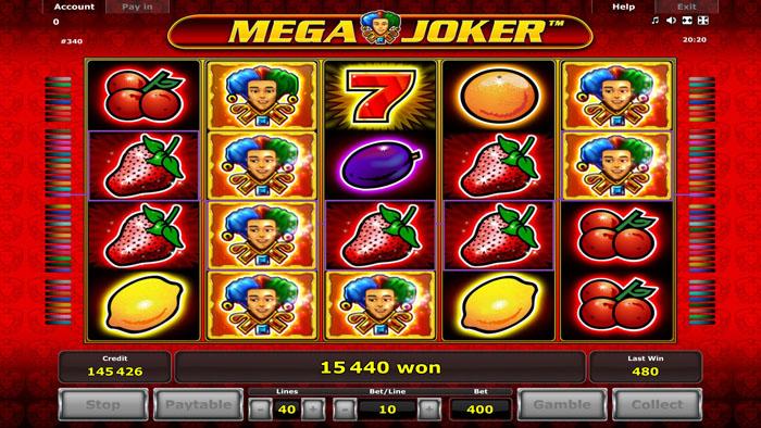 Mega Joker fruitautomaat