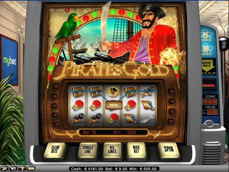 Pirates Gold fruitautomaat